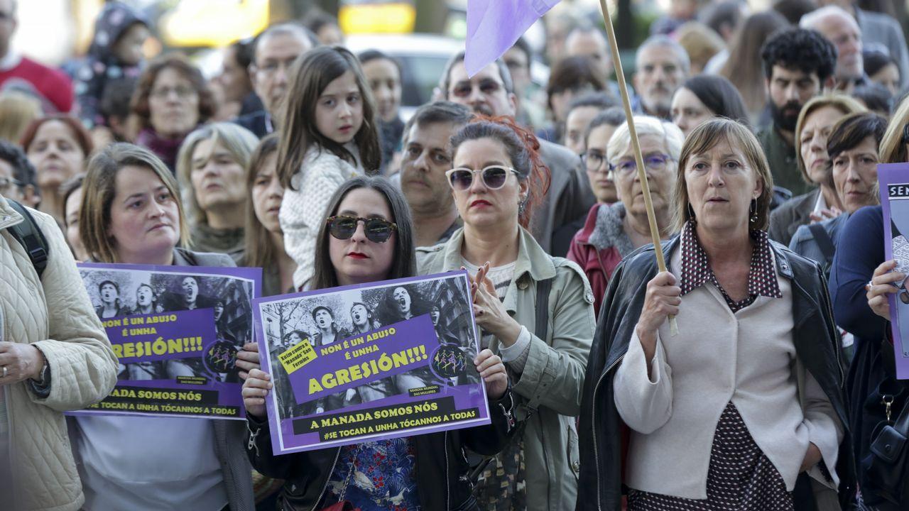 .Manifestación en A Coruña contra la sentencia a La Manada
