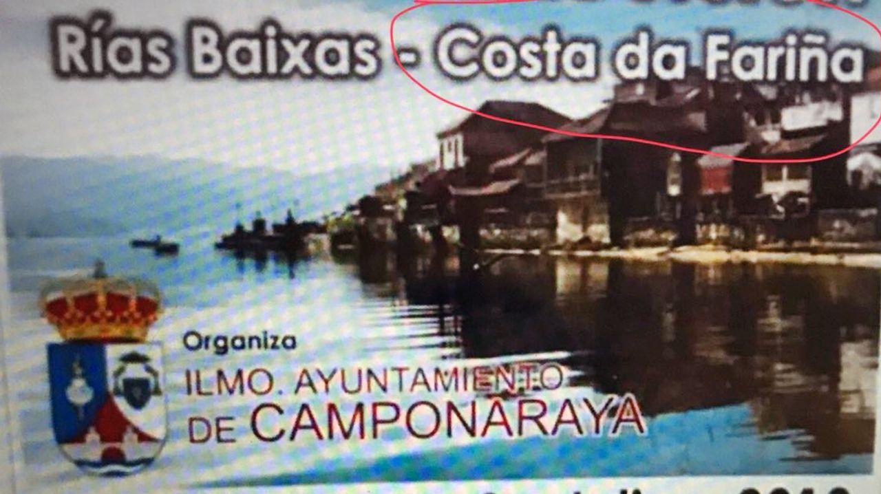.El reclamo de Camponaraya era una excursión a las Rías Baixas con el reclamo de ser la Costa da Fariña