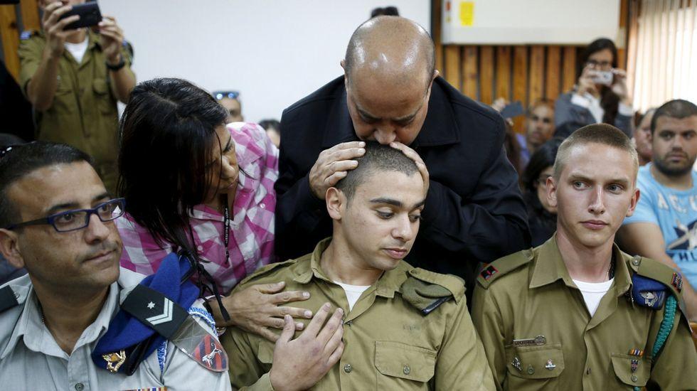 Declarado culpable el soldado israelí que remató en el suelo a un atacante palestino herido.Carmen Moriyón, junto a Álvarez-Cascos, en su intervención en el Foro Nueva Economía de Madrid