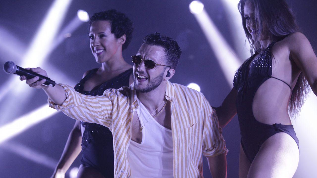 Concierto del rapero español Tangana