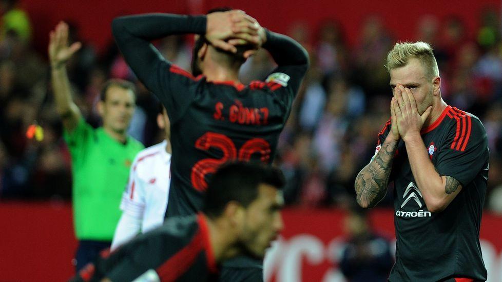 Las mejores imágenes del Sevilla-Celta