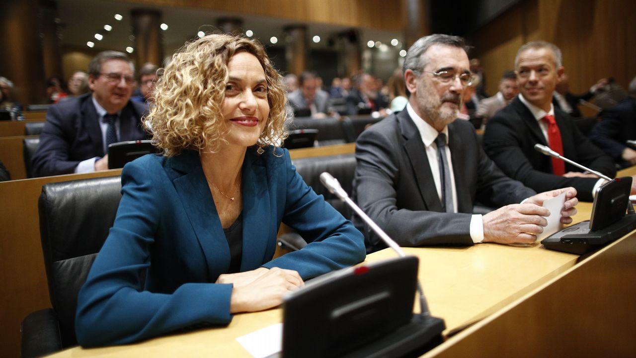 La exministra de Política Territorial y futura presidenta del Congreso, Meritxell Batet
