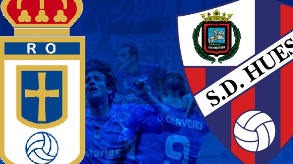 Costas celebra su gol ante el Huesca
