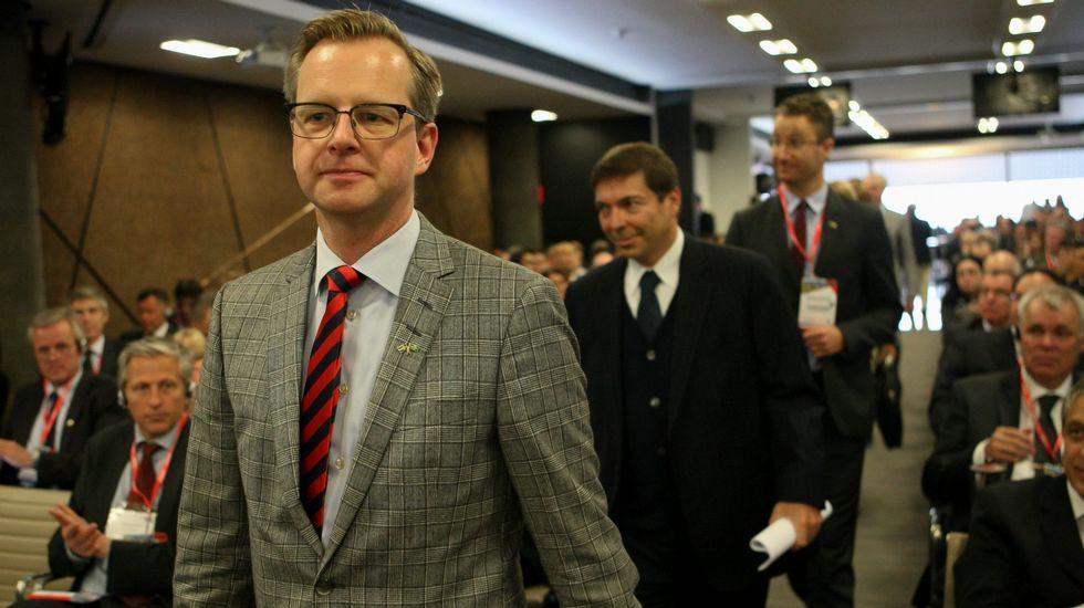 .El ministro sueco de Industria, Comercio e Innovación, Mikael Damberg.