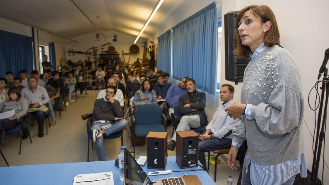 Multitudinario y emotivo homenaje a Lurdes Pardo en Buxantes