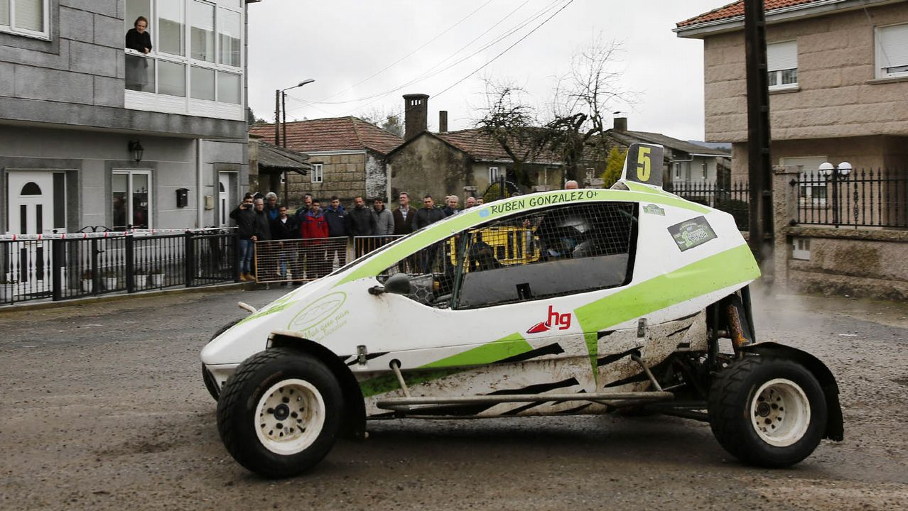 XLV Subida Automovilística a Chantada.Alfredo Martínez Cuervo