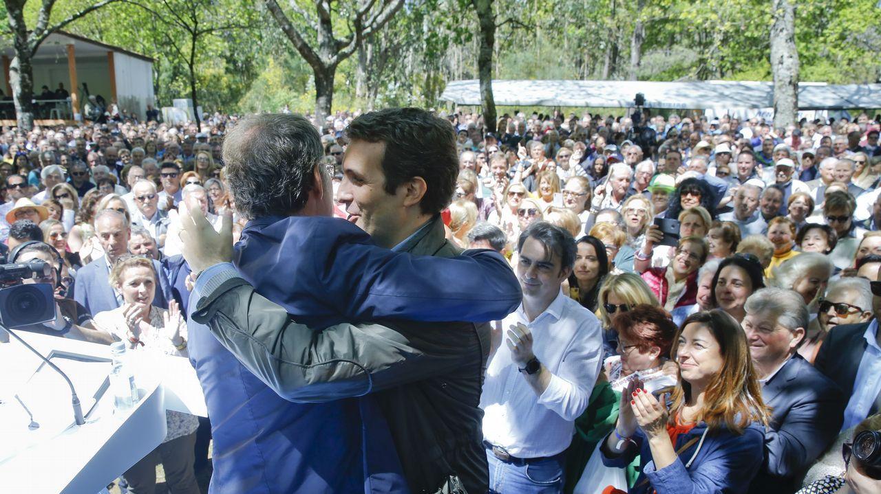 Álbum de fotos: ¡Así se vivió el debate electoral de Ribeira!.CANDIDATURA CERRADA (Santiago). Xosé Sánchez Bugallo: Exalcalde y candidato único