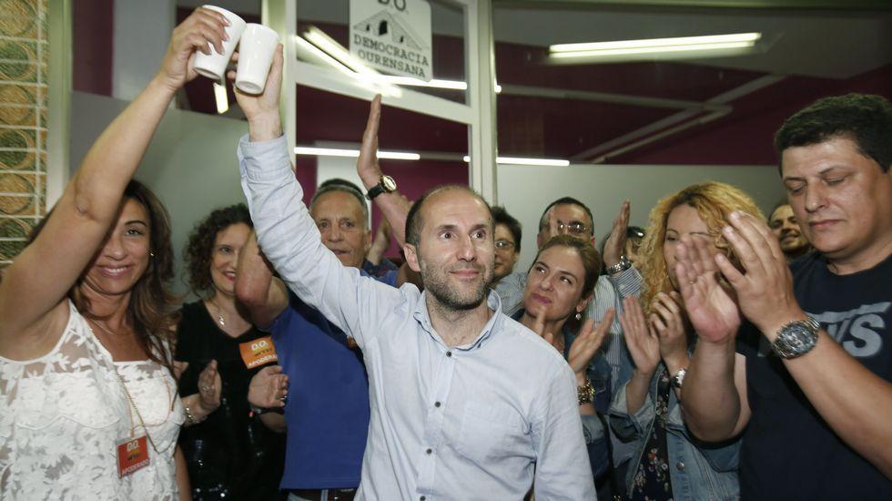 La jornada electoral en Ourense