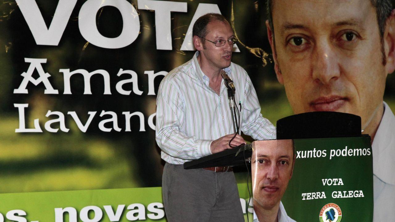 Las imágenes de la invasión gallega en Valença.Iván Añón y los otros dos acusados durante el juicio que se celebró en el 2008 en la audiencia de A Coruña