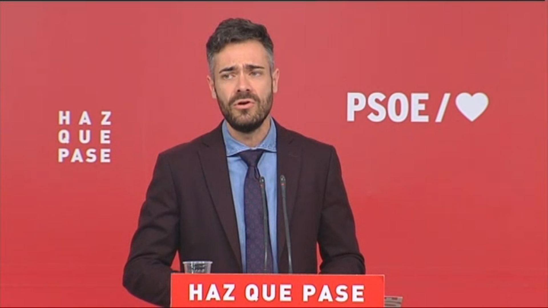 Arranca la campaña electoral en Ourense.Enfrentamiento de alumnos de la Universidad de Oviedo y de simpatizantes de Vox en el campus de El Milán