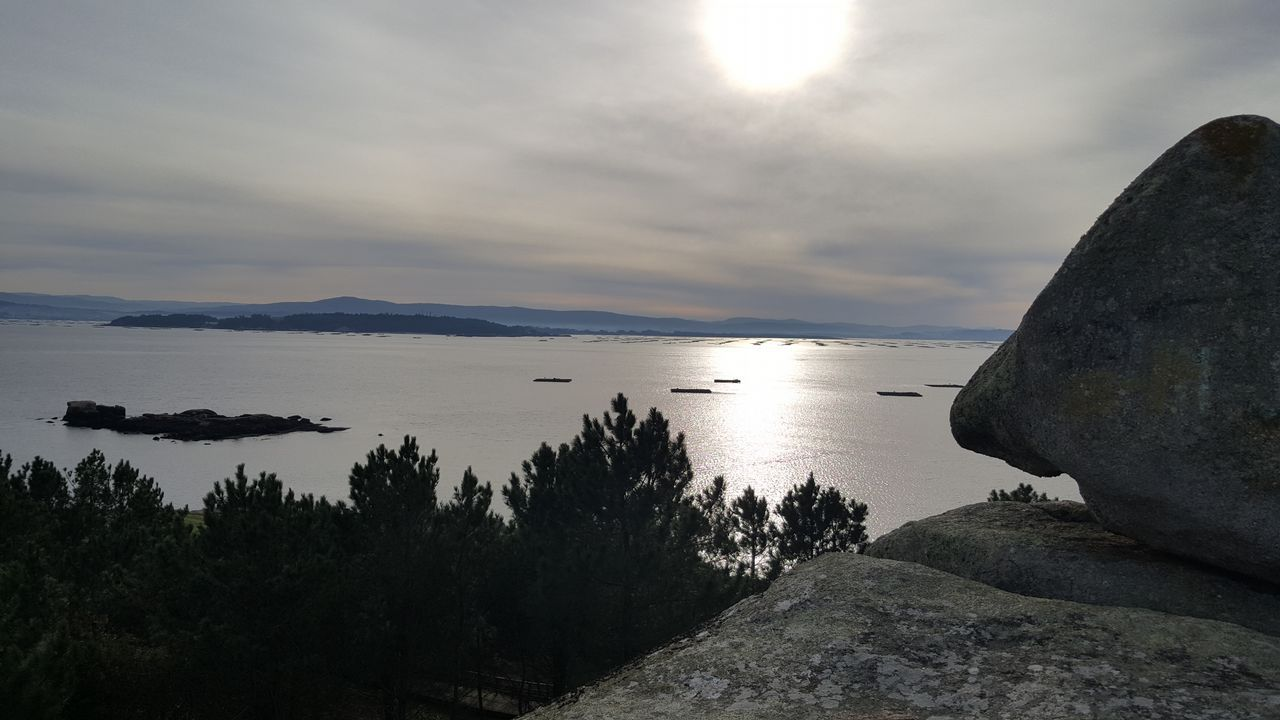 Salida de la primera etapa de la V Regata Interclubes de la Ría de Pontevedra
