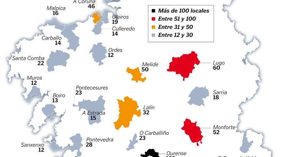 Sancionados por horario en el 2014