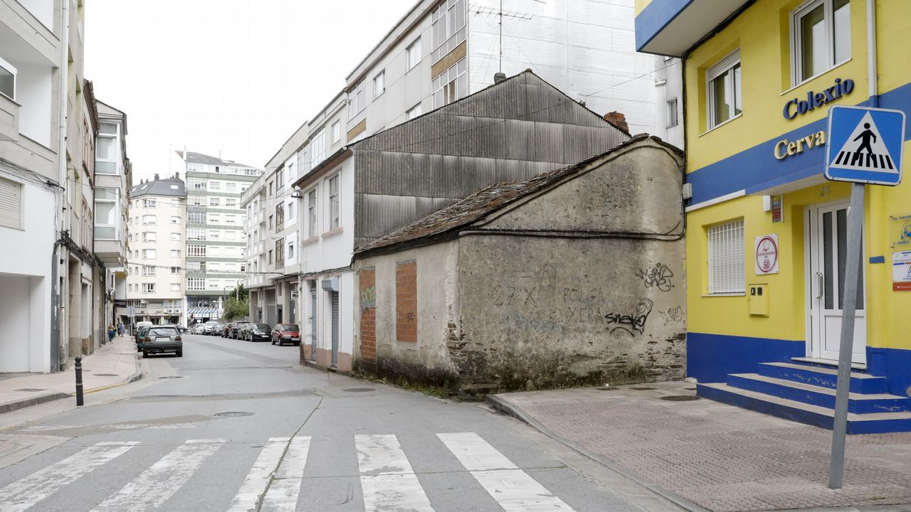 Vísperas del San Ramón en Vilalba.Concepción Mourenza, vecina de Pardellas, explica cómo ocurrió