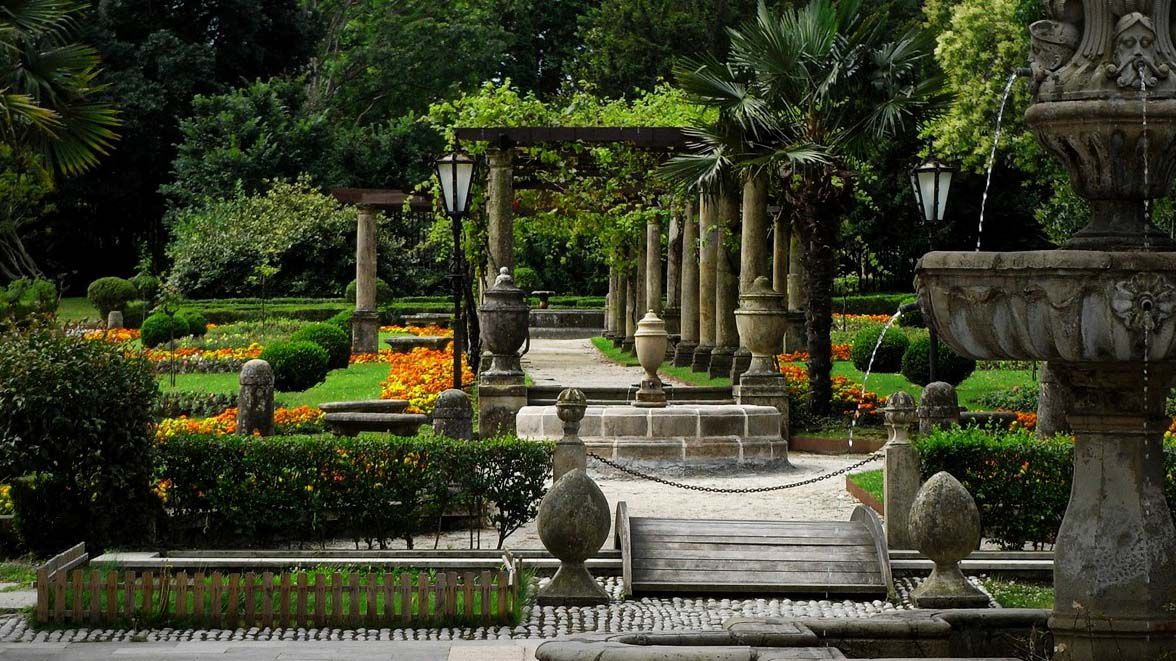 .Parque de Ferrera, lugar cercano al asalto de la víctima