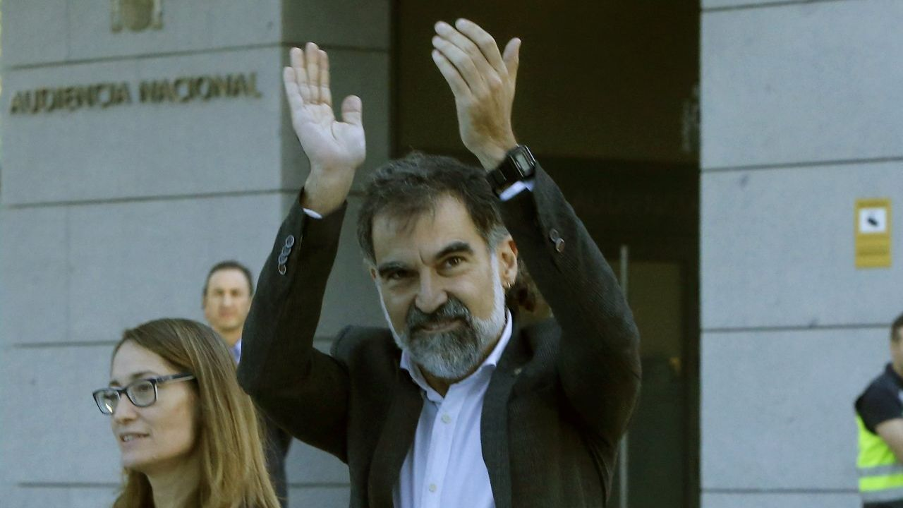 Jordi Cuixart. Presidente de Òmnium. Rebelión. En prisión