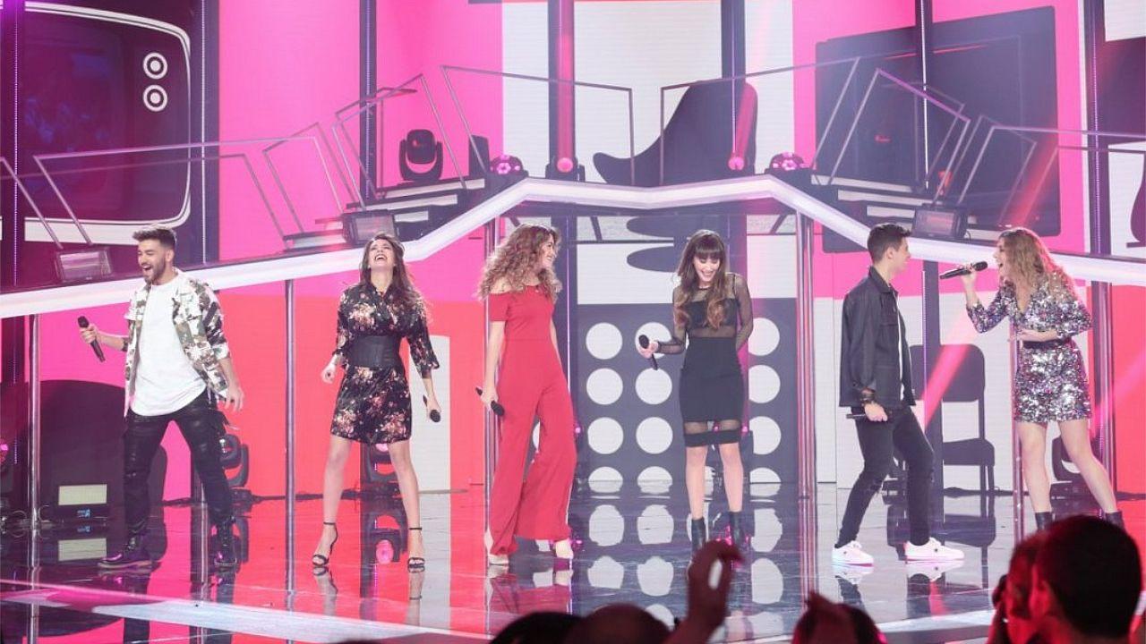 Los concursantes de «OT 2017» ya ensayan las canciones para Eurovisión