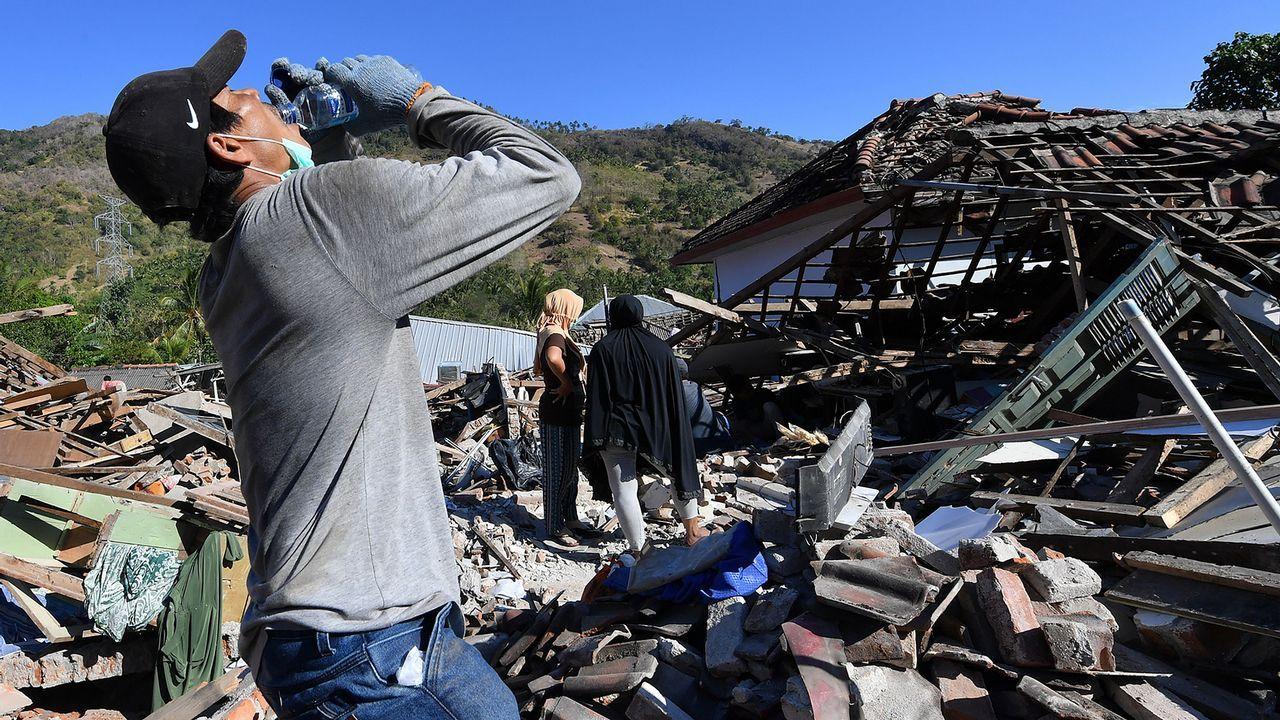.Terremoto en Indonesia