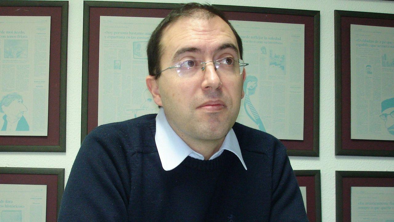 .Javier Folgueira, secretario xeral de Lugo, fue uno de los que dimitió