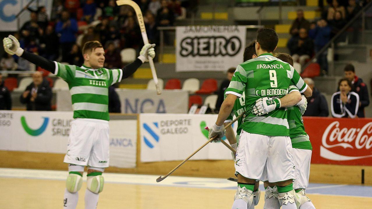 Los goles del Lugo vienen de Canarias.Carlos Fernández en un Sevilla Atlético-Lugo