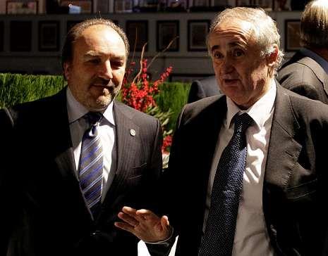 Luis García Mañá con José Luis Seoane Spiegelberg