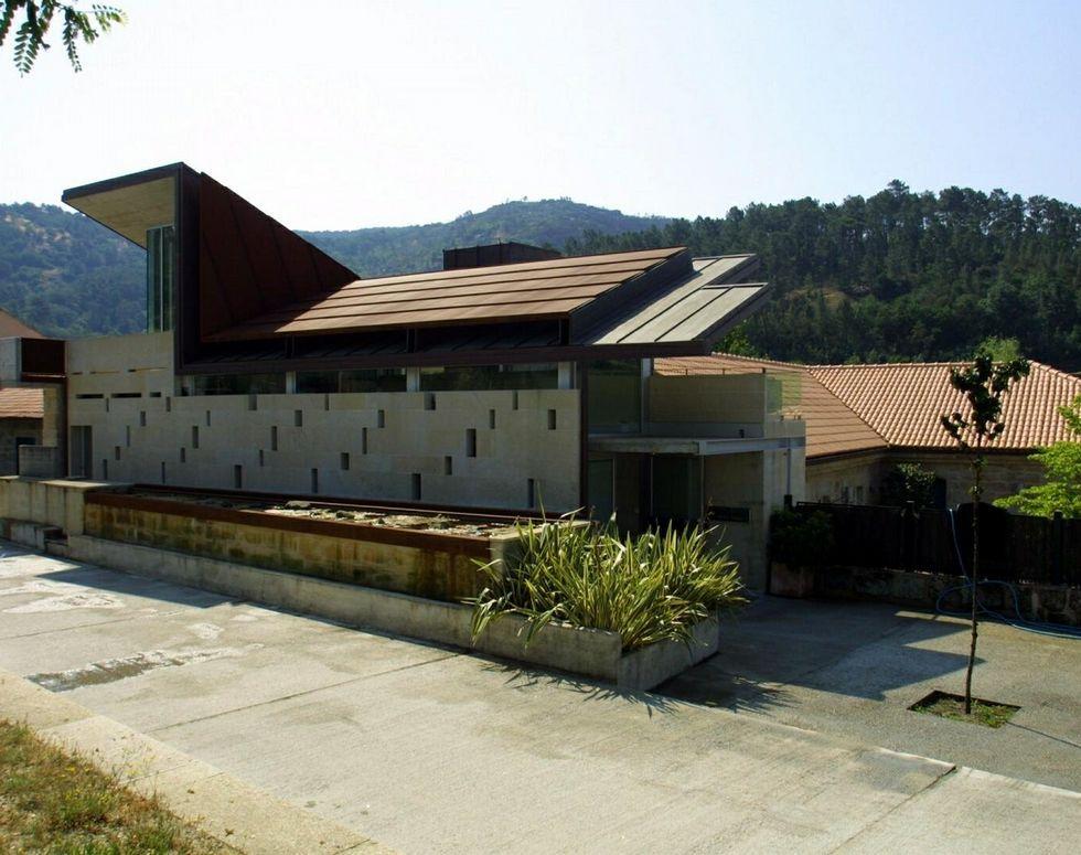 «La excarcelación fue laboriosa, duró mucho tiempo».Casa de turismo rural Dona Branca, en San Clodio.