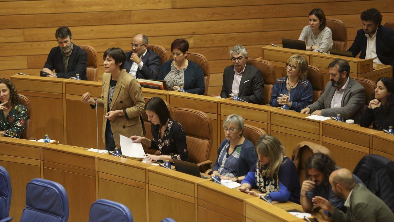 La dirección de En Marea releva a la empresa que custodiaba el censo electoral.Ana Pontón, en una foto de archivo