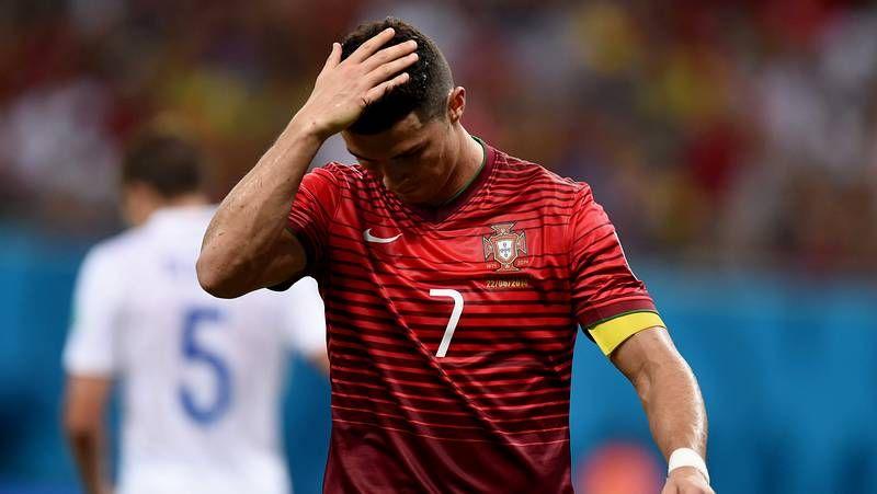 La angustia de Cristiano Ronaldo.Kevin Prince Boateng