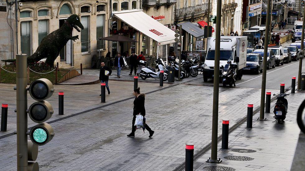 Así se cruzan las calles en las siete ciudades gallegas.