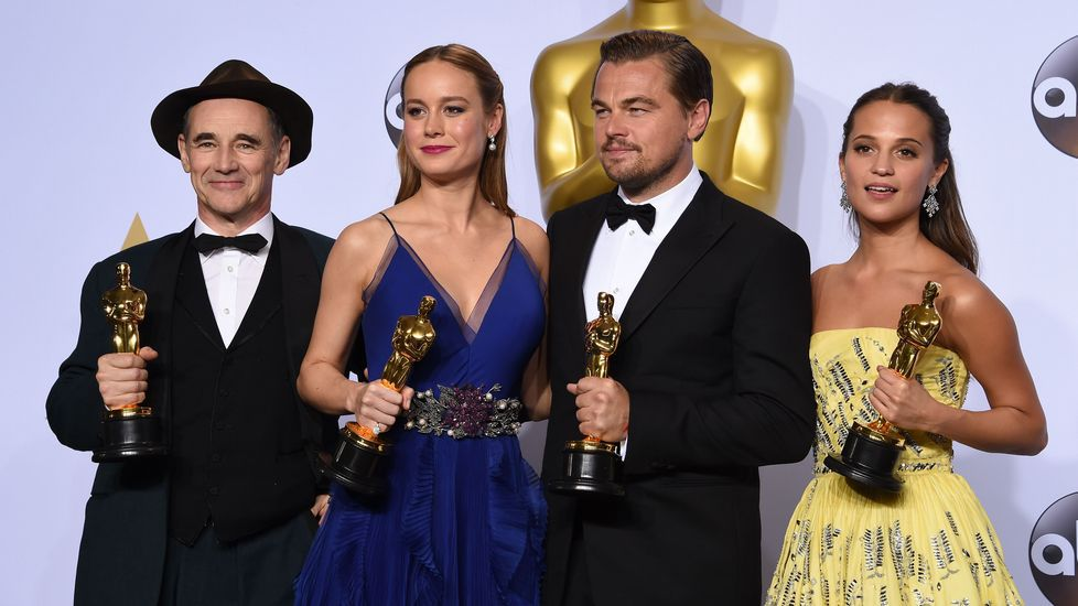 Los cuatro actores (principales y secundarios) premiados