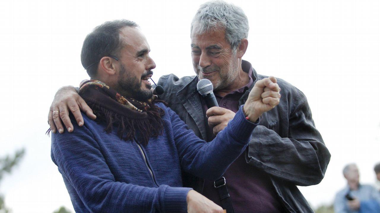 El actor Javier Gutiérrez, ayer en San Sebastián