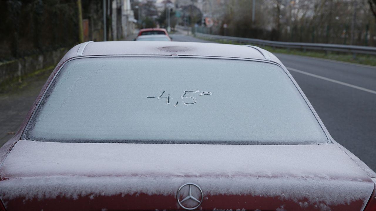 Más lluvia, frío y nieve para Galicia