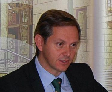 El alcalde de Monforte y el presidente de la Xunta, durante la inauguración de ayer.
