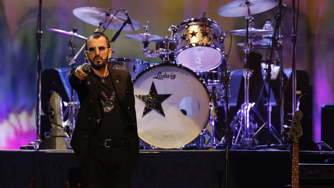 Ringo Starr conquistó A Coruña.