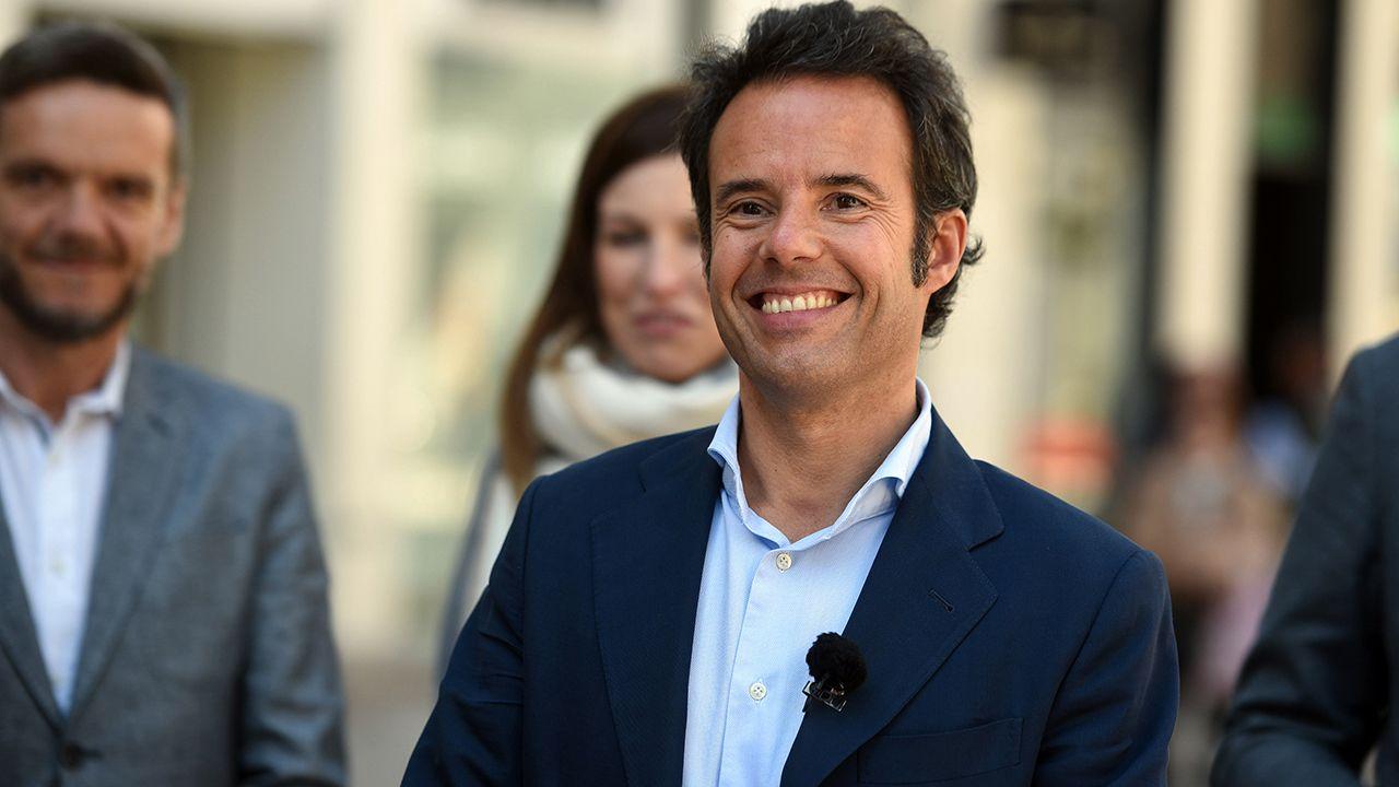 Ignacio Cuesta, candidato de Ciudadanos a la alcaldía de Oviedo