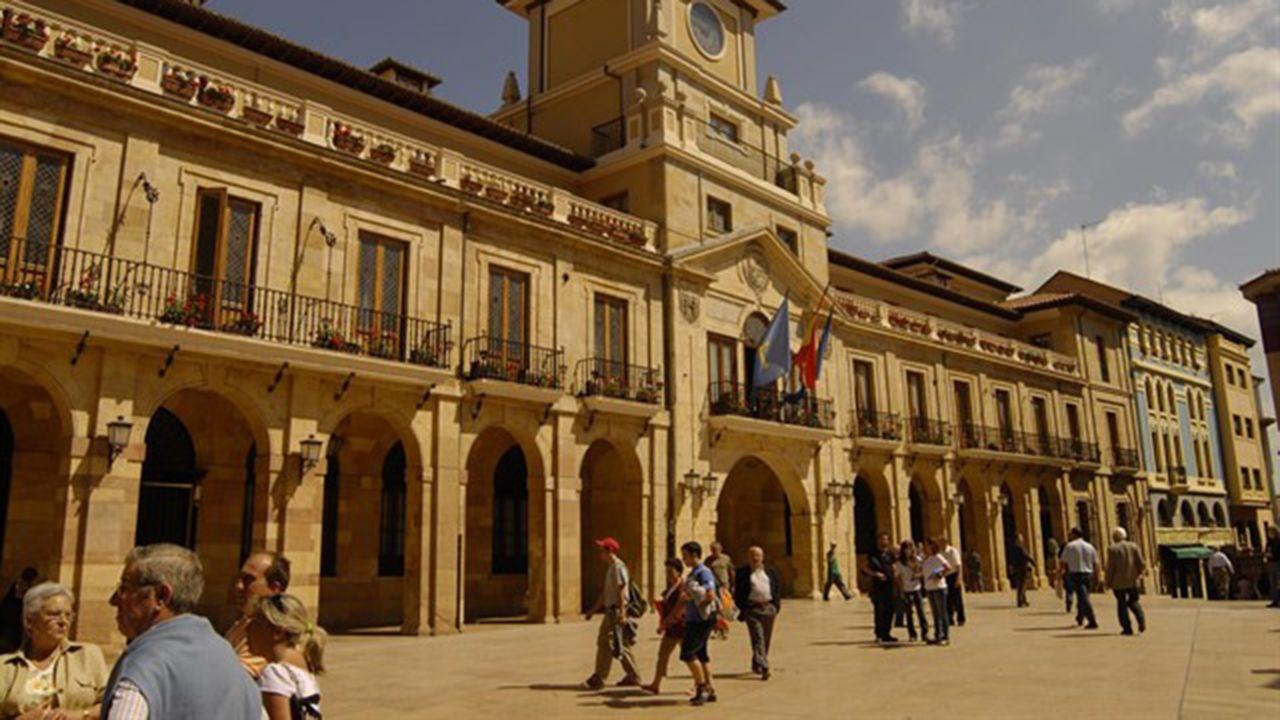 Plaza del Ayuntamiento de Oviedo