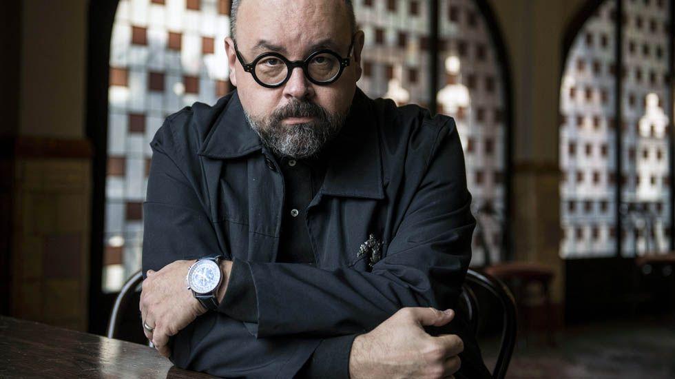 El escritor Carlos Ruiz Zafón.El escritor Carlos Ruiz Zafón