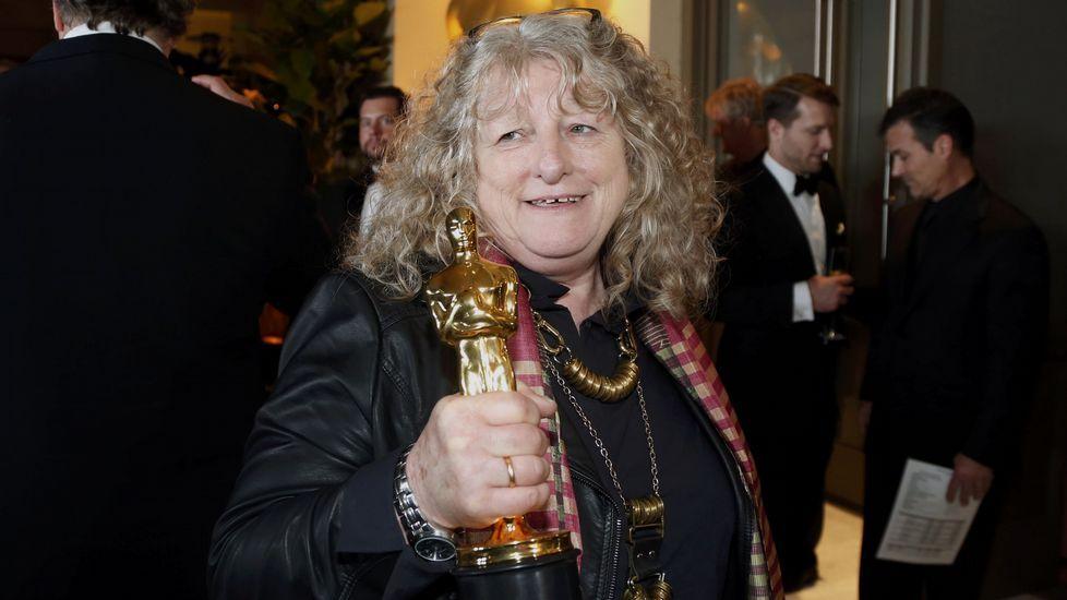 Jenny Beavan, se llevó el Oscar al mejor diseño de vestuario por «Mad Max»