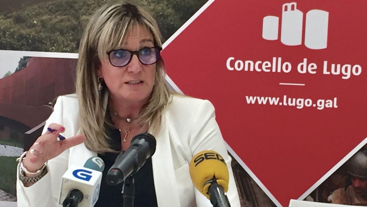 La concejala de Economía de Lugo, Ana Prieto, la propuesta de Gonzalo Caballero para liderar la lista al Congreso