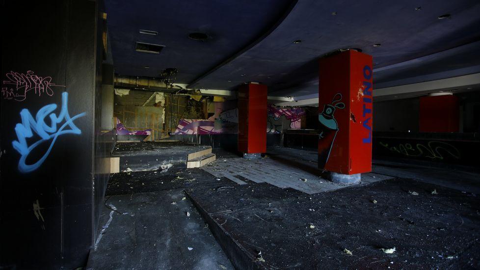 Así está la antigua discoteca El Bosque