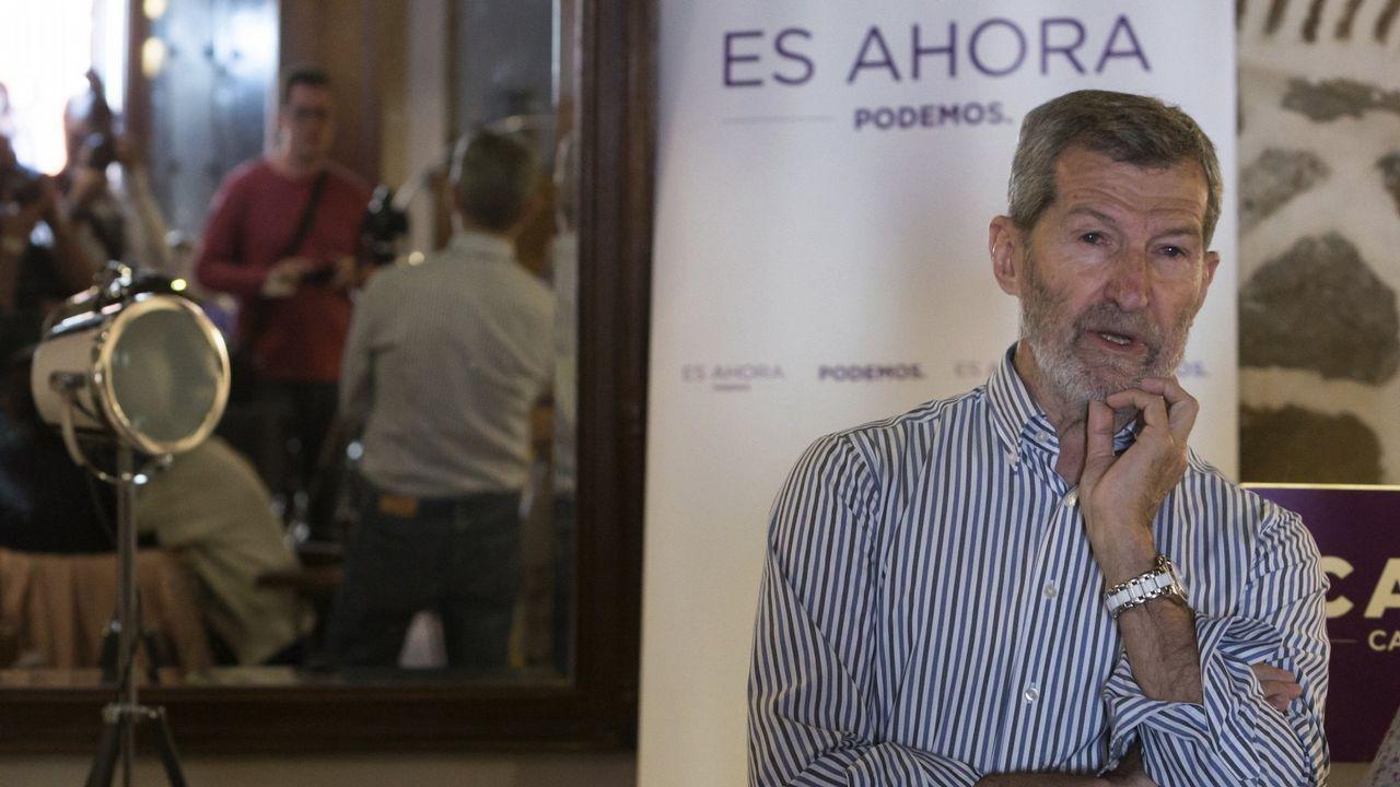 Celebraciones de venezolanos en Galicia.El ex jefe del Estado Mayor de la Defensa Julio Rodríguez, ganador de las primarias de Podemos para optar a la alcaldía de Madrid, era el candidato de Iglesias para controlar la lista de Carmena.