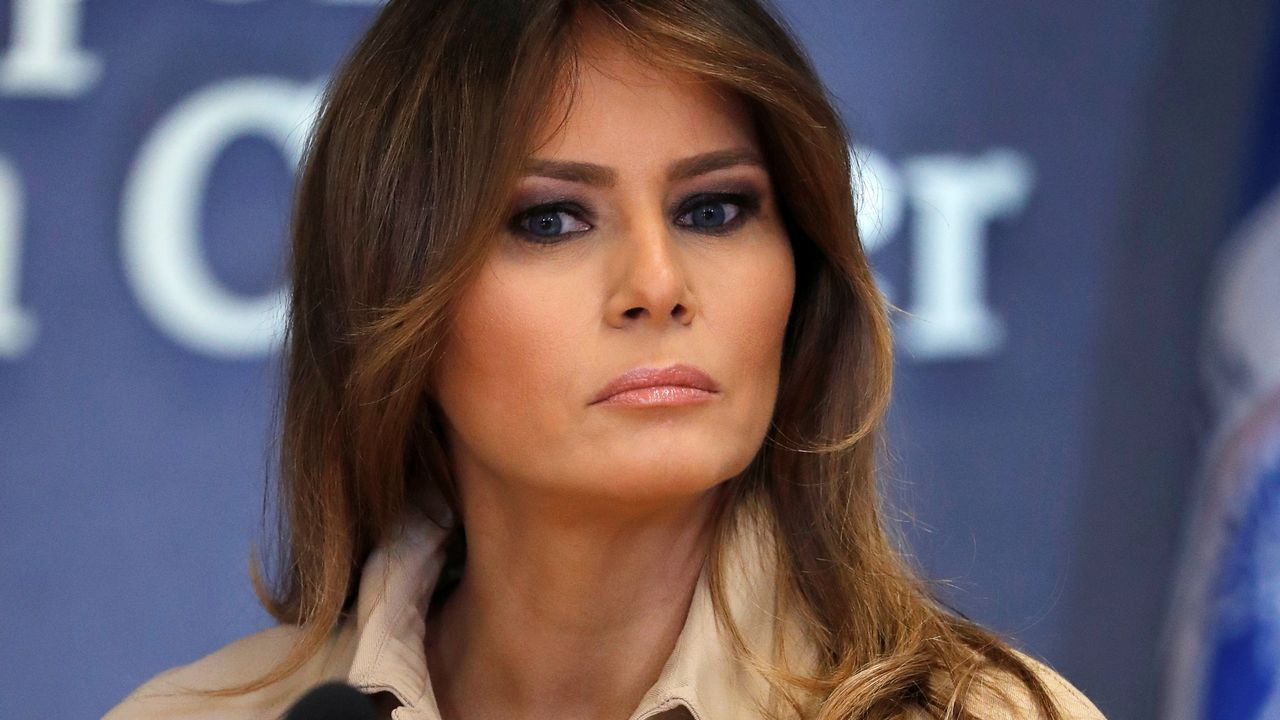 La reaparición de Melania Trump tras su operación.