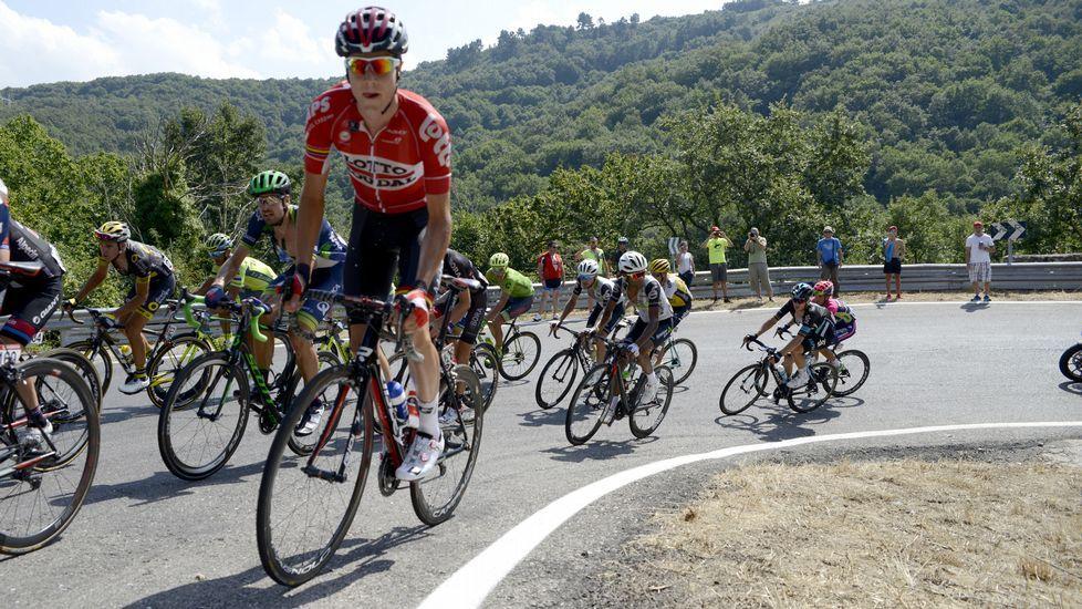 Antonio Ortiz impasible ante el testimonio de dos de las niñas agredidas.El ciclista asturiano Dani Navarro