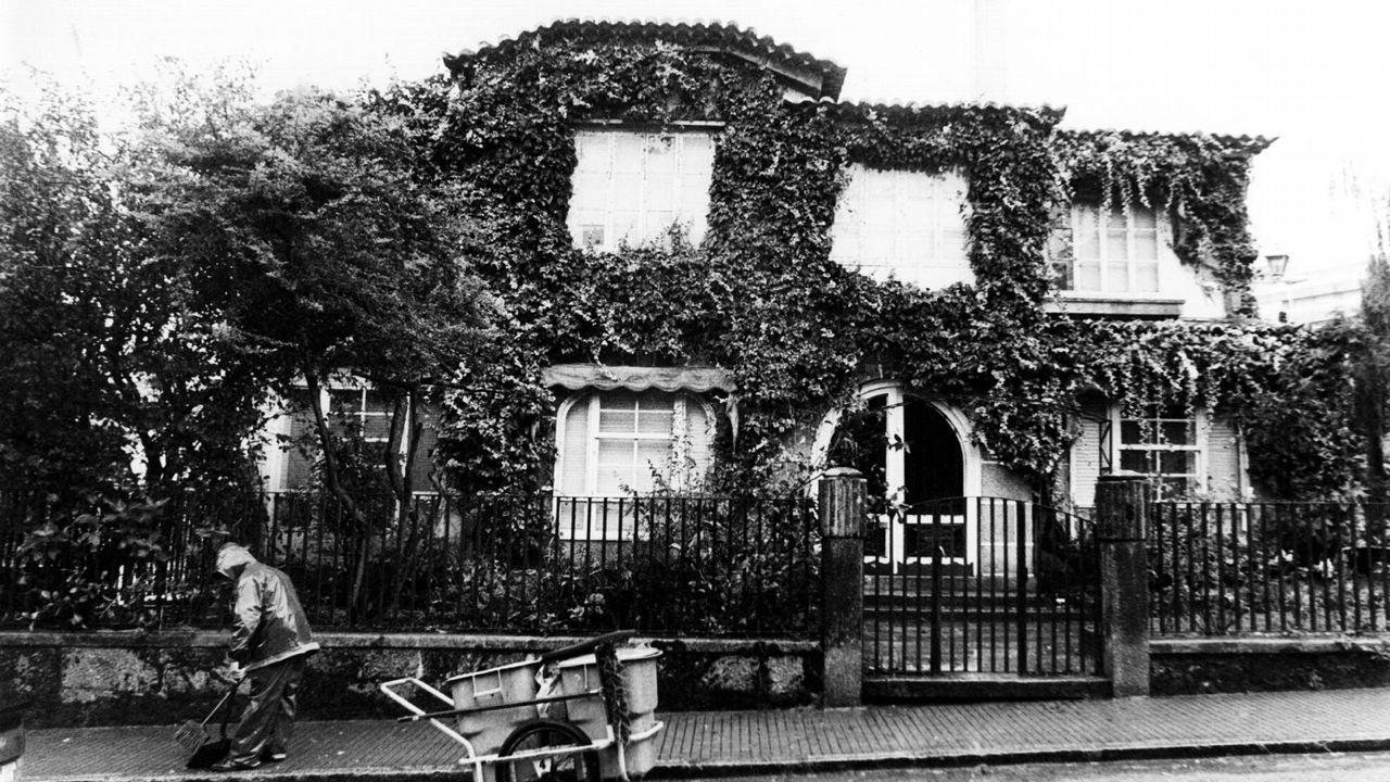 .Casa del expresidente de la Xunta