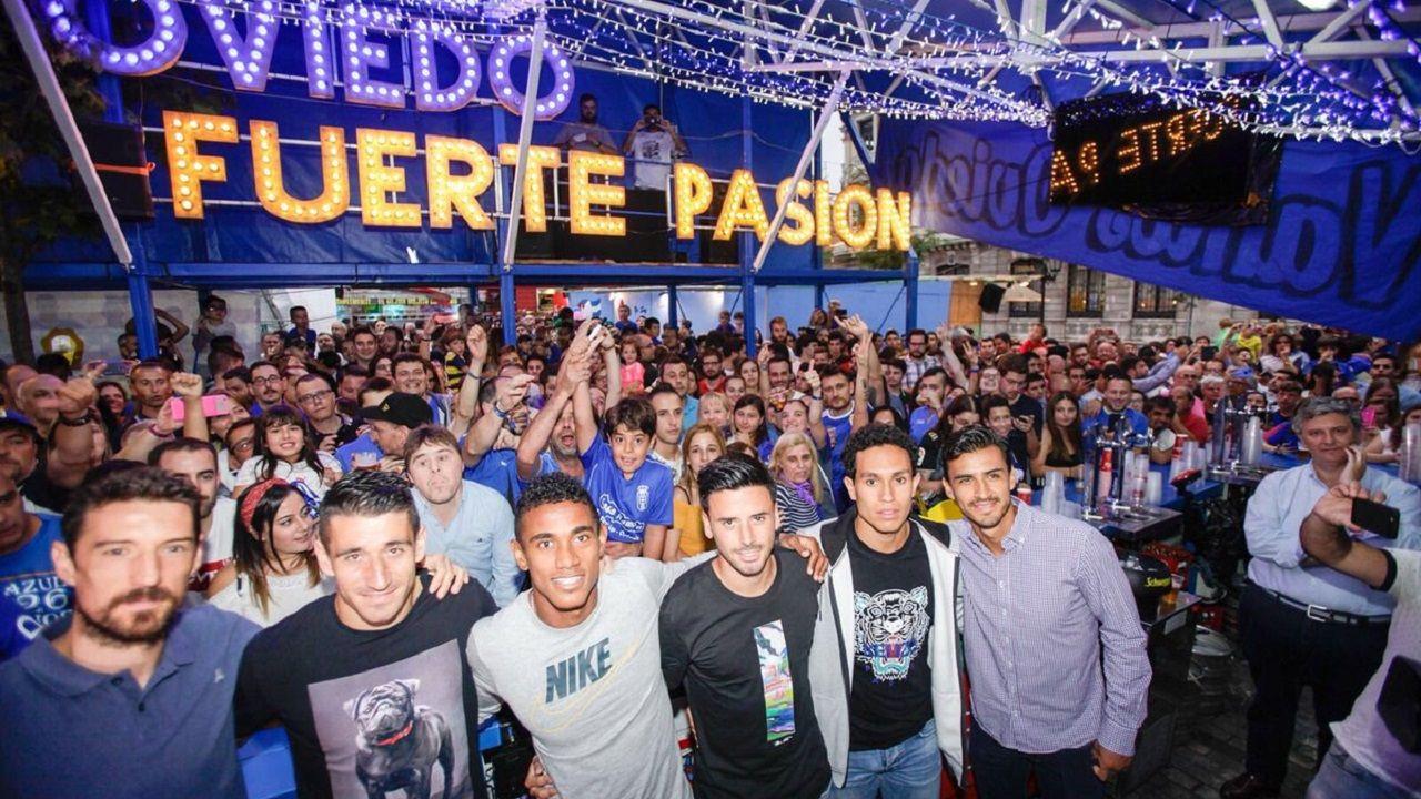 Toché, Saúl Berjón, Bárcenas, Javi Muñoz, Steven y Alanís
