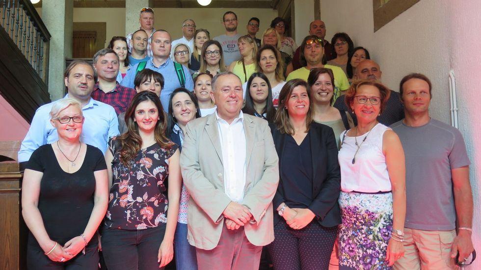 A Laracha acoge un intercambio de cinco paíseseuropeos.El primer ministro Joseph Muscat
