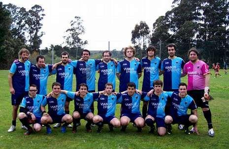 Formación del Mecos FG que jugó el pasado fin de semana el torneo de la Liga Ibérica.
