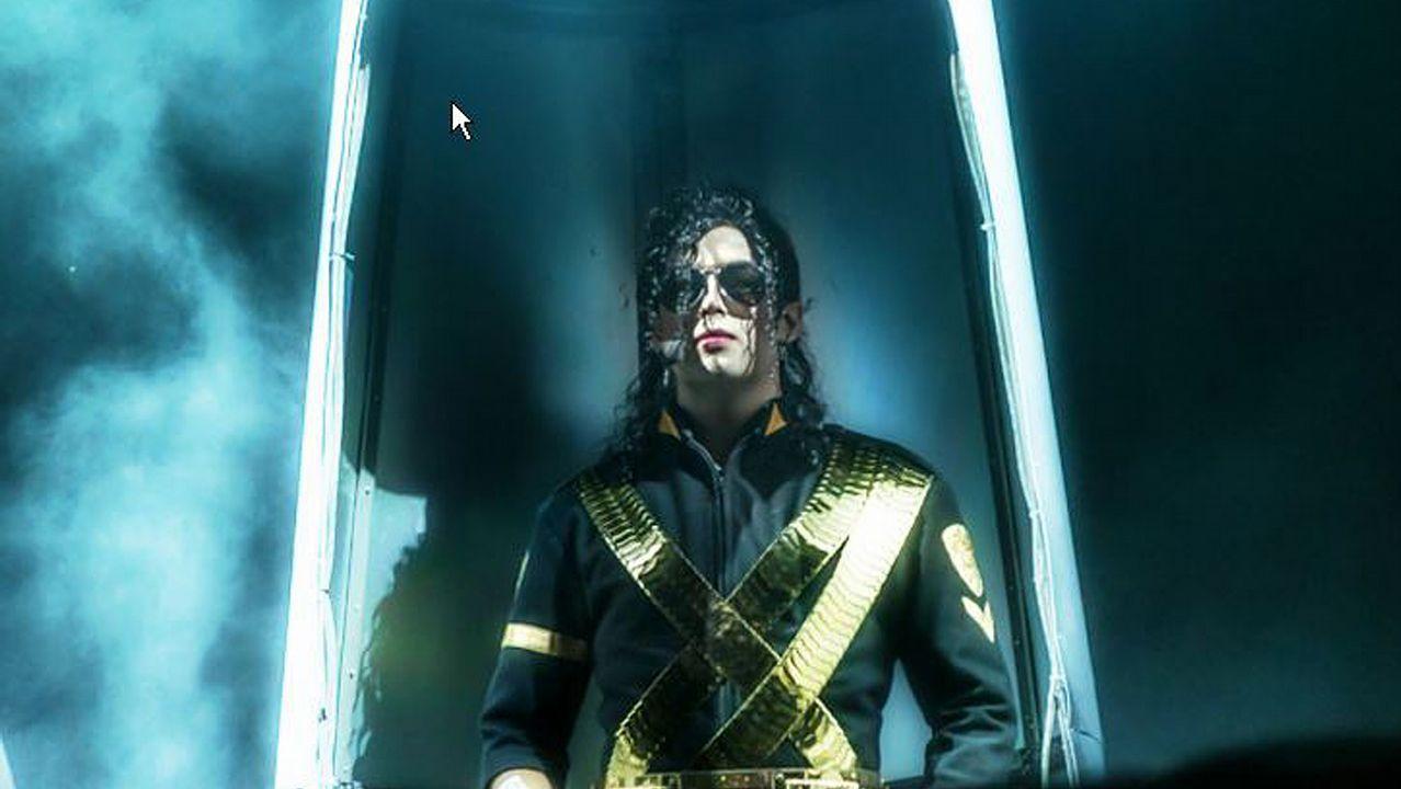 «Estuve al lado de Michael Jackson»