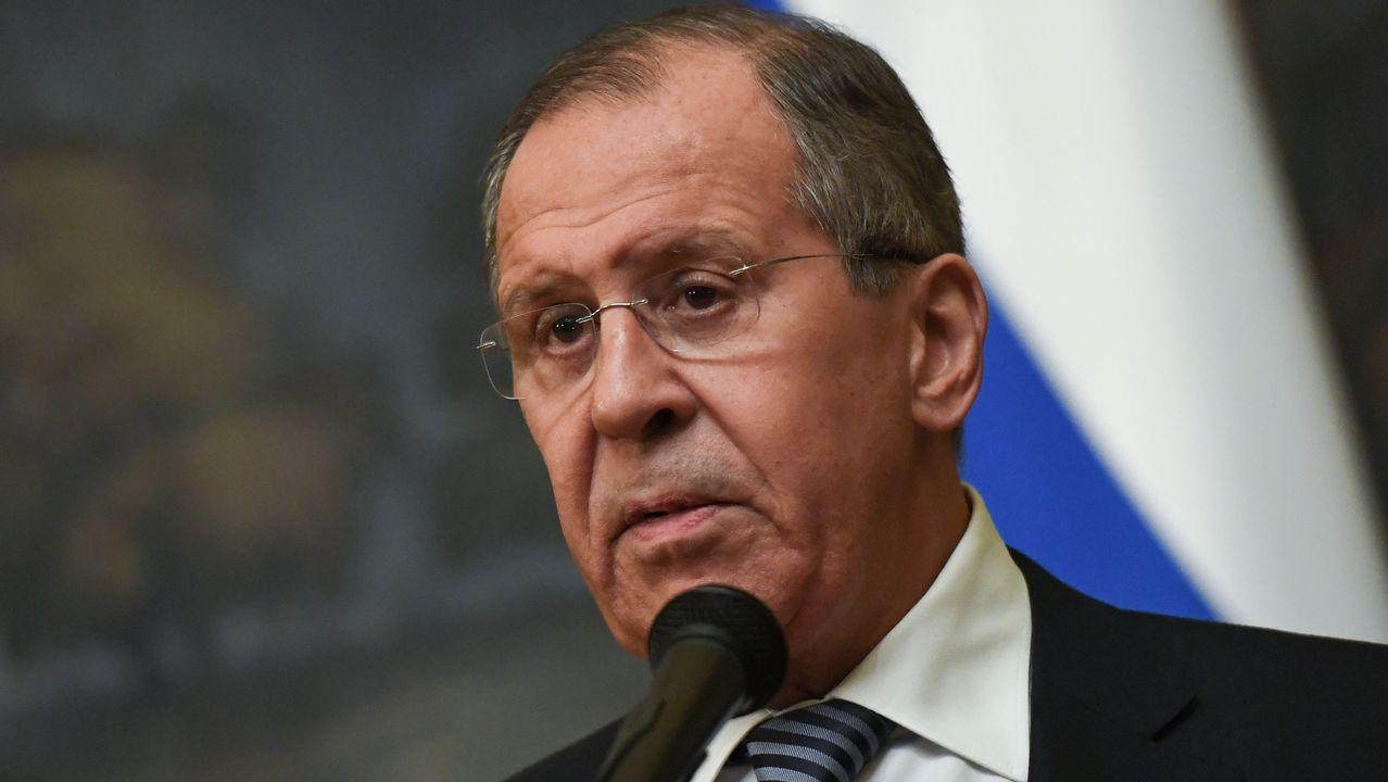 El ministro de Exteriores ruso, Serguei Lavrov