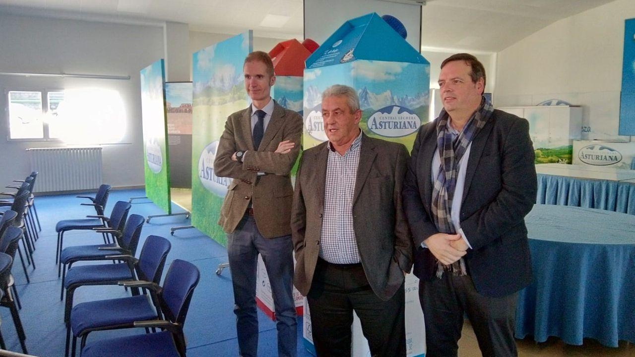 José Armando Tellado, Francisco Sanmartín y Bertino Velasco