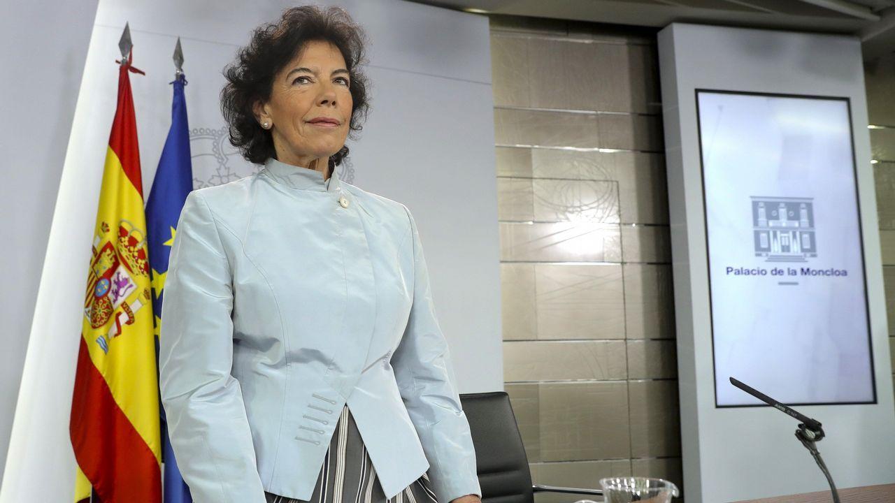 Los retos de los ministros con experiencia.La socialista María Luisa Carcedo